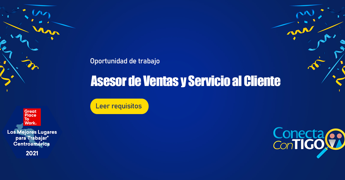 Trabajos en TIGO GUATEMALA